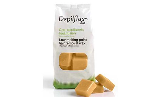 Depilflax Воск для депиляции горячий Капучино CAPUCCINO в брикетах 1 кг по специальной цене