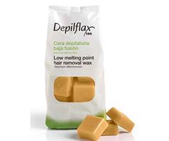 Depilflax Воск для депиляции горячий Капучино CAPUCCINO в брикетах 1 кг фото