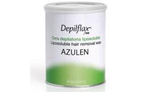 Depilflax Воск для депиляции Азулен AZUL в банке 800 мл