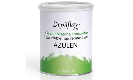 Depilflax Воск для депиляции Азулен AZUL в банке 800 мл по специальной цене