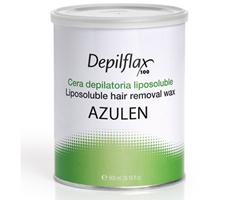 Depilflax Воск для депиляции Азулен AZUL в банке 800 мл фото