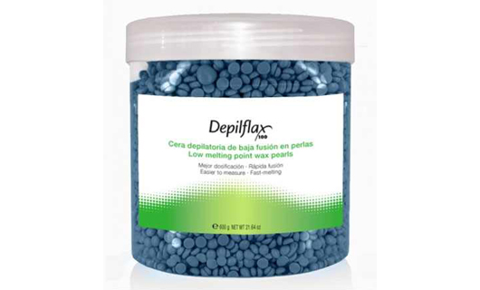 Depilflax азуленовый горячий воск в гранулах 600 г по специальной цене
