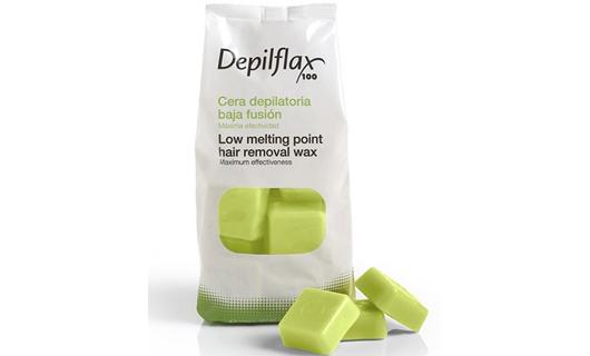 Depilflax Воск для депиляции горячий Аргана Argan в брикетах 1 кг по специальной цене