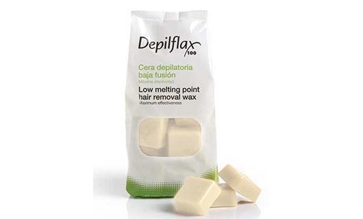 Depilflax Воск для депиляции горячий Хлопок COTTON в брикетах 1 кг по специальной цене