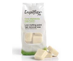 Depilflax Воск для депиляции горячий Хлопок COTTON в брикетах 1 кг