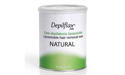 Depilflax Воск для депиляции Натуральный NATURAL в банке 800 мл по специальной цене