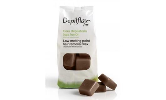 Depilflax Шоколад. Горячий воск 1 кг по специальной цене