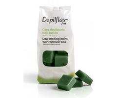 Depilflax Зеленый. Горячий воск 1 кг фото