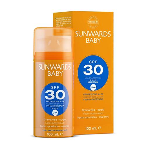 SUNWARDS Baby SPF 30 по специальной цене