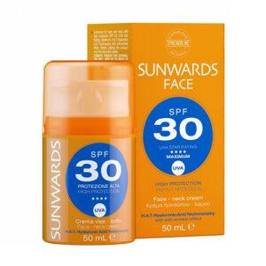 SUNWARDS Face Cream SPF 30+ фото